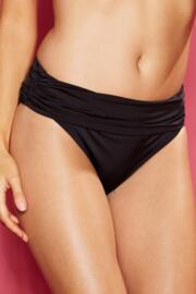 Azure Ruched Pant - Black