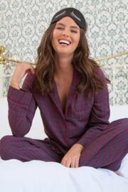 Kaleidoscope Pyjama Set - Navy/Berry