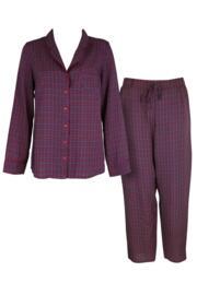 Kaleidoscope Pyjama Set - Navy/Berry