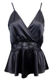 Dusk Teddy Playsuit - Black