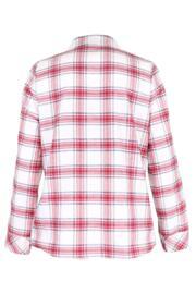 Cosy Check Pyjama Set - White/Red