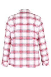 Cosy Check Pyjama Set - White/Red