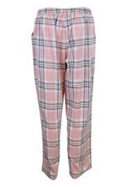 Cosy Check Pyjama Set - Pink/Grey