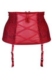 Hush Suspender - Ruby Red