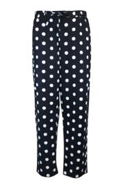 Cosy Spot Pyjama Set - Black/Cream