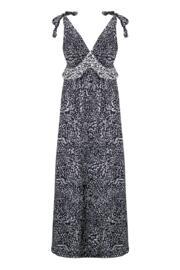 Mixology Maxi Dress - Black/White