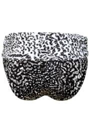 Mixology Fold Over Brief - Black/White