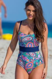 Bohemia Control Swimsuit - Multi
