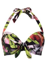 Orchid Luxe Halter Padded Underwired Top - Multi