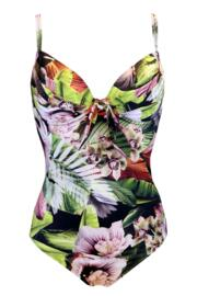 Orchid Luxe Padded Underwired Swimsuit - Multi