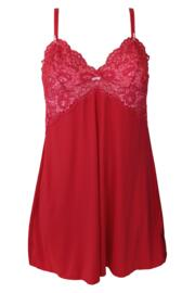 Opulence Chemise - Red/Pink