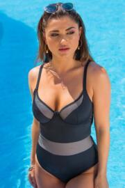 Glamazonia Lightly Padded U/W Swimsuit - Black
