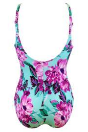 Heatwave Control Swimsuit  - Aquaburst