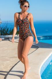 Hot Spots Control Swimsuit  - Ditsy