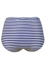 Sea Breeze High Waisted Control Brief - Navy/Coral