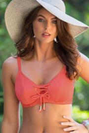 Escape Underwired Rope Top - Coral