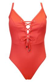 Escape Rope Swimsuit - Coral
