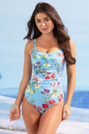 Odyssey Ruched Control Swimsuit - Seville