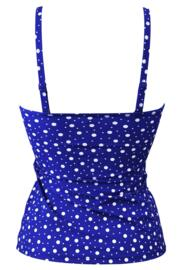 Mini Maxi Sweetheart Lightly Padded U/W Tankini Top - Ultramarine