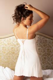 Amour Luxe Chemise - Ivory/Champagne