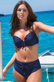 Monaco Padded Underwired Top - Navy