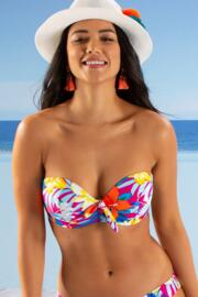 Heatwave Strapless Lightly Padded Top - Ibiza