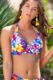 Heatwave Halter Underwired Top - Ibiza