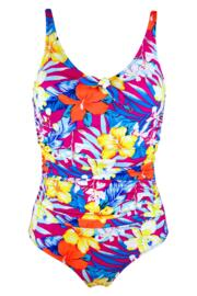 Heatwave Scoop Neck Control Swimsuit  - Ibiza