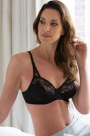 Superfit Full Cup Underwired Bra - Black