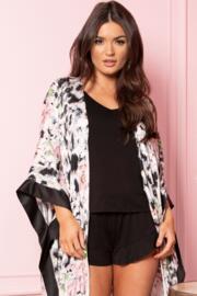 Sofa Love Frill Shorts - Black