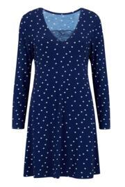 Sofa Love Lace Secret Support Nightdress - Navy Spot