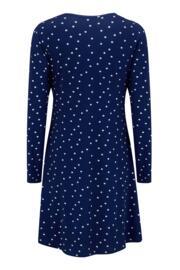 Sofa Love Lace Secret Support Nightdress - Navy Spots