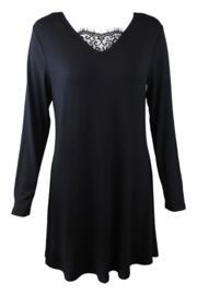Sofa Love Lace Secret Support Nightdress - Black