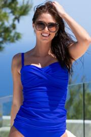Santa Monica Removable Straps Non Wired Tankini - Ultramarine