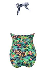 Havana Breeze Underwired Halter Swimsuit - Multi