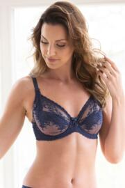 Bridgette Full Cup Bra - Ink/Rose Gold