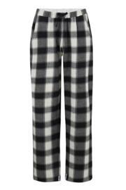 Sofa Love Cosy Check Trouser - Black/White