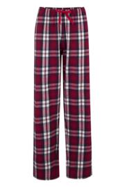 Cosy Check Pyjama Set - Red