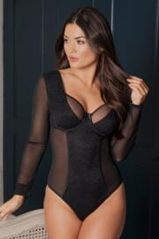 Muse Long Sleeve Underwired Body - Black