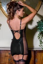 Illicit Cami Suspender - Black