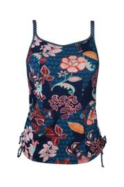 Reef Underwired Tankini Top - Abstract Floral