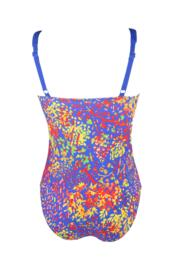 Bohemia Twisted Front Control Swimsuit - Madagascar