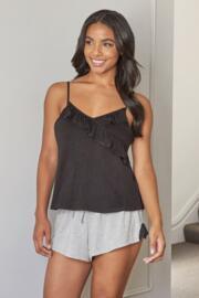 Sofa Loves Lace Shorts - Grey Marl