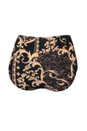 Paradiso Belted High Waisted Control Brief - Black/Gold