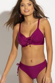 Coco Beach Adjustable Brief - Cassis