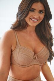 Remix Side Support Underwired Bra - Cappuccino