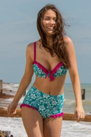 Aloha Padded Top - Spearmint