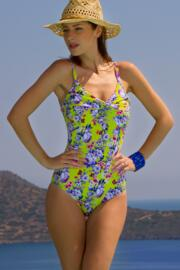 Paradise Control Swimsuit - Lime