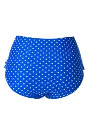 Hot Spots High Waisted Control Brief - Ultramarine