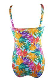 Bamboo Control Swimsuit - Blue Mix